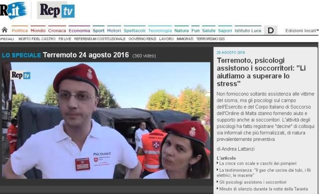 Intervista alla Repubblica